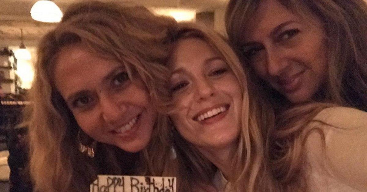 Blake Lively Celebrates Turning 30 with Friends